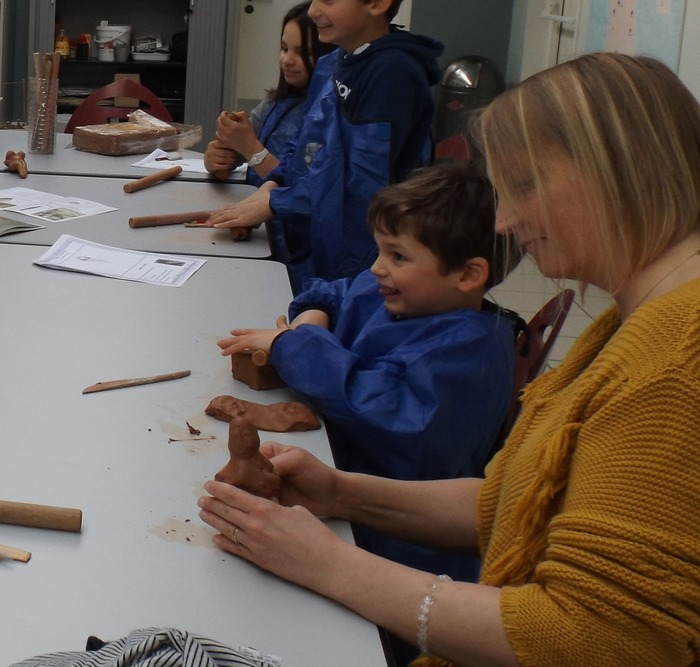 Journées du patrimoine 2018 - Atelier de poterie