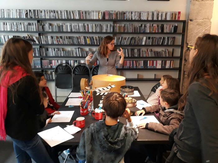 Journées du patrimoine 2018 - Atelier de pré-cinéma.