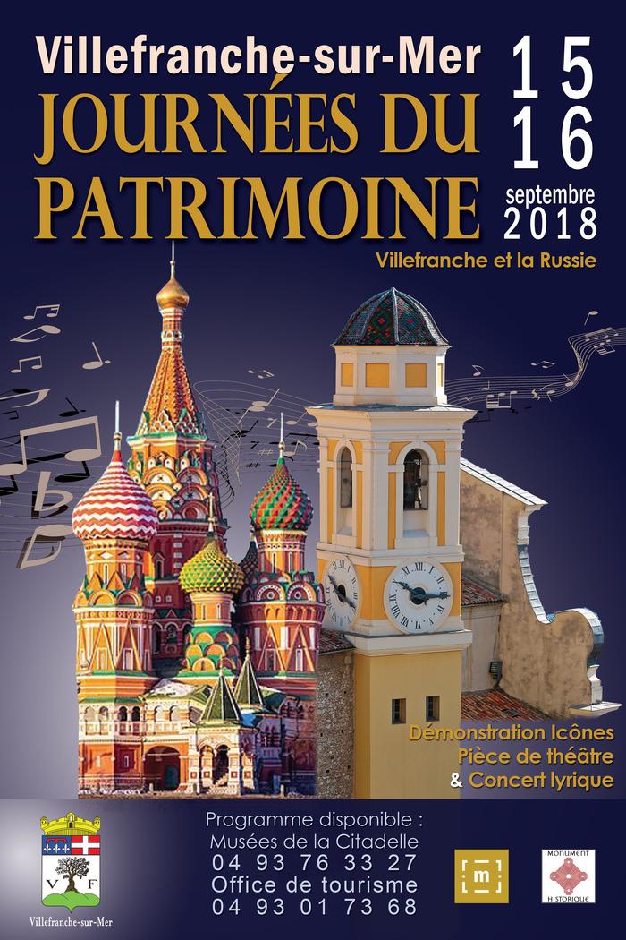 Journées du patrimoine 2018 - Atelier de présentation sur le travail des Icones Russes par Giancarlo Pellegrini