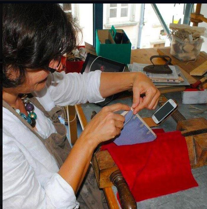 Journées du patrimoine 2018 - Atelier de reliure d'art