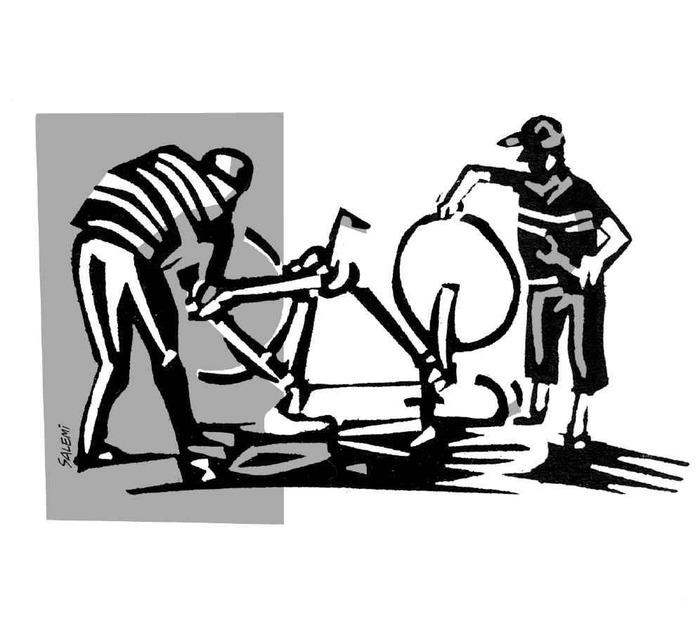Atelier de réparation et gravage vélo