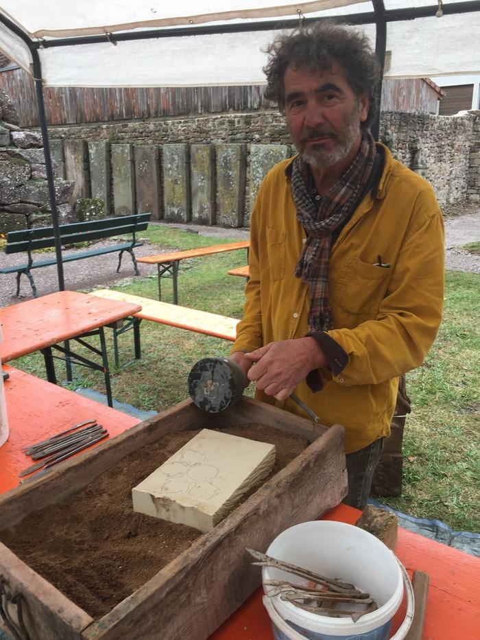 Journées du patrimoine 2018 - Atelier de Sculpture à Niederhaslach