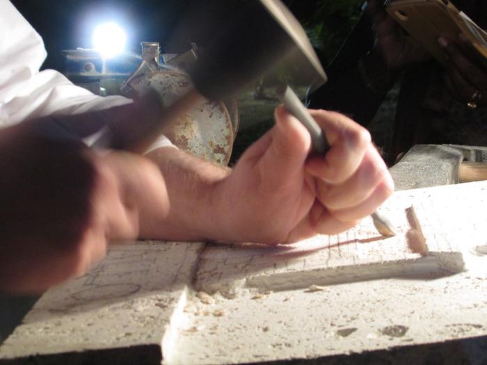 Journées du patrimoine 2018 - Atelier de tailleur de pierre