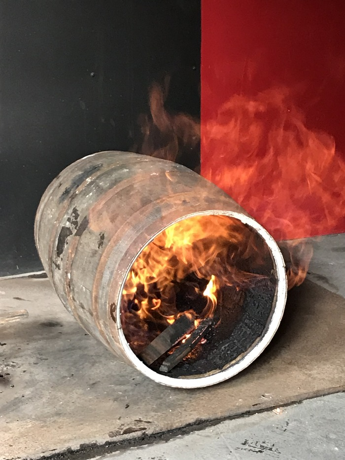Journées du patrimoine 2018 - Atelier de tonnellerie à la distillerie JM
