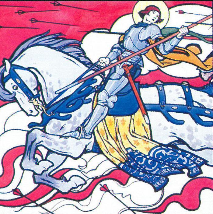Journées du patrimoine 2018 - Atelier enfants - Jeanne d'Arc, l'héroïne aux mille visages