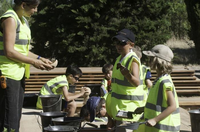 Journées du patrimoine 2018 - Atelier du petit archéologue