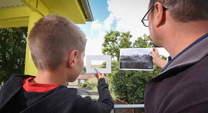 Journées du patrimoine 2018 - Atelier enfant - Regard sur la colline, la mine et son paysage