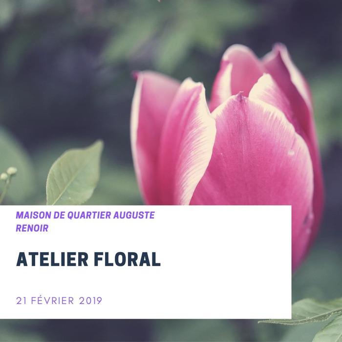 Atelier floral !