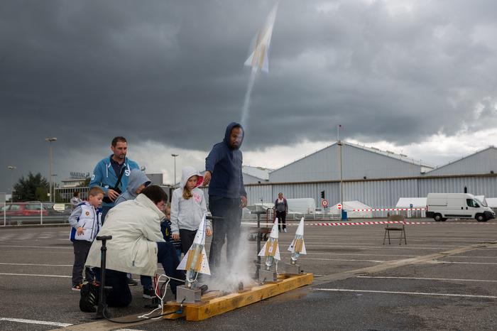 Journées du patrimoine 2018 - Atelier fusée à eau