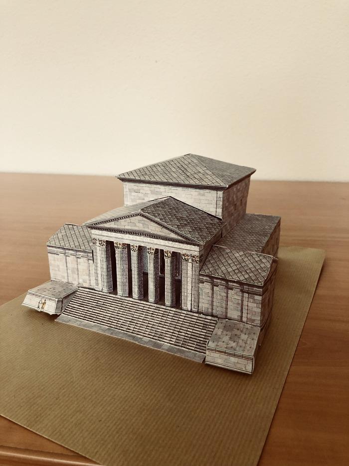 Journées du patrimoine 2018 - Réalisation d'une maquette du temple de Mercure