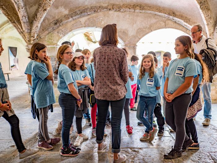 Journées du patrimoine 2018 - Atelier kaléidoscope pour jeune public.