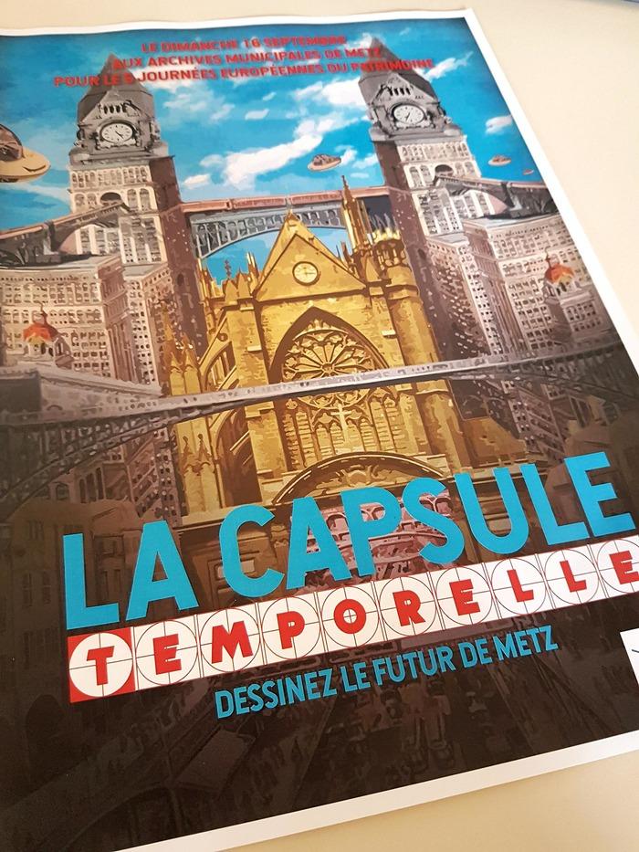 Journées du patrimoine 2018 - Atelier La Capsule Temporelle