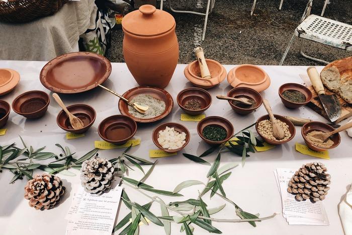 Journées du patrimoine 2018 - Atelier « la cuisine antique, à la table romaine »
