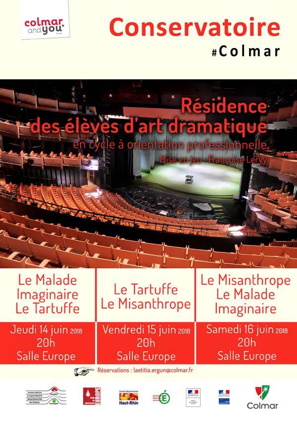 Atelier Molière : Allez, répétons !