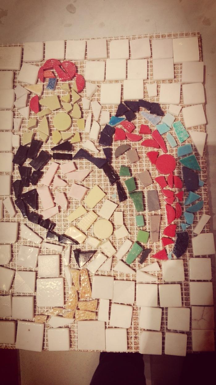 Journées du patrimoine 2018 - Atelier mosaique