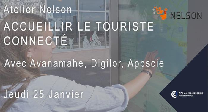 Atelier Nelson : Accueillir le touriste connecté