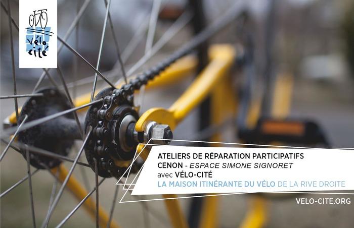 Atelier de réparation participatif vélo - Cenon