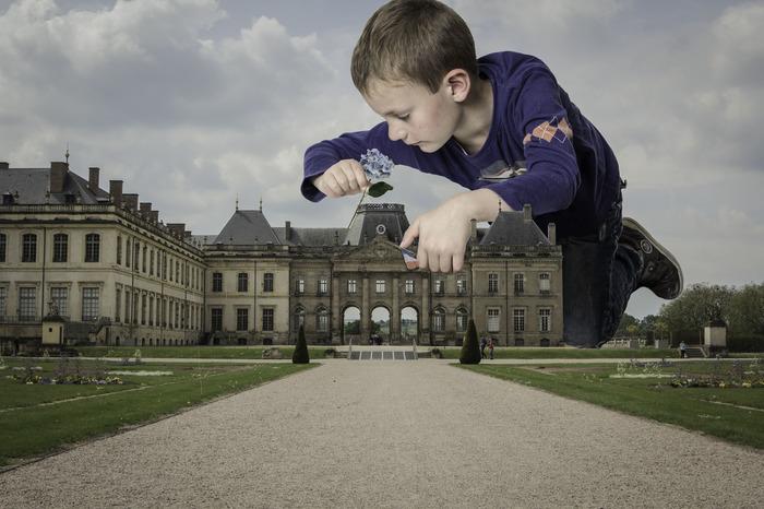 """Atelier photographique """"Le Château des Lumières revisité"""""""