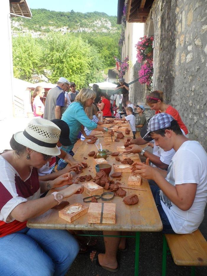 Journées du patrimoine 2018 - Atelier de poterie.