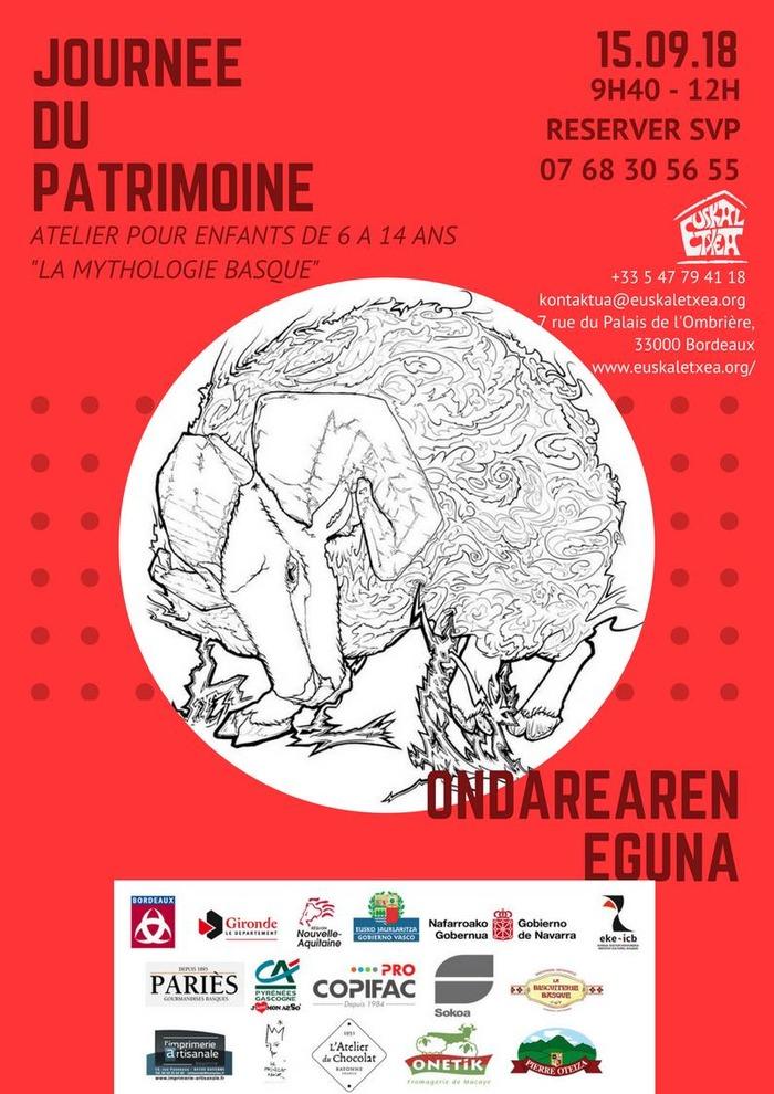 Journées du patrimoine 2018 - Atelier pour enfants - contes et mythes basques