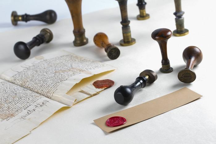 Journées du patrimoine 2017 - Atelier sceaux et cachets aux Archives