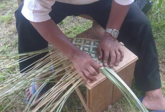Journées du patrimoine 2018 - Atelier vannerie amérindienne