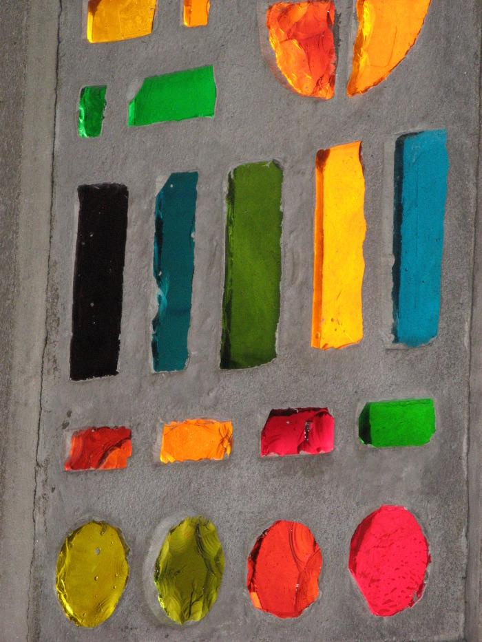 Journées du patrimoine 2017 - Atelier vitrail à l'église Notre-Dame de Victoire