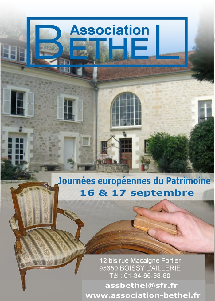 programme et animations des journ es du patrimoine 2017 pour la commune de cergy 95000 95800. Black Bedroom Furniture Sets. Home Design Ideas
