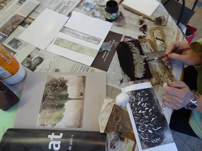 Journées du patrimoine 2018 - Ateliers estampe et aquarelle