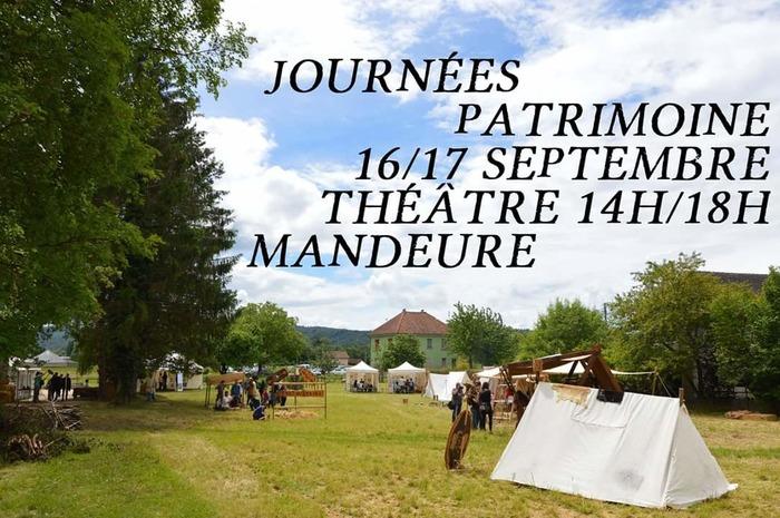 Journées du patrimoine 2017 - Ateliers et Savoir-faire au Théâtre antique de Mandeure