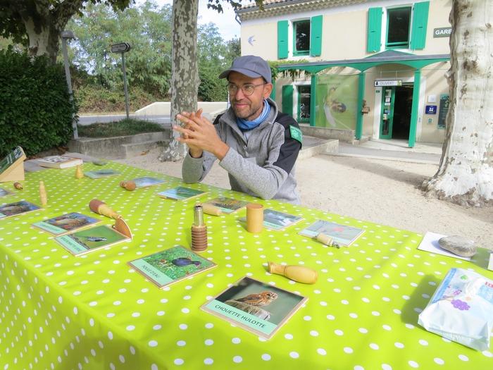Journées du patrimoine 2018 - Ateliers sur les oiseaux de la Réserve naturelle des Ramières.