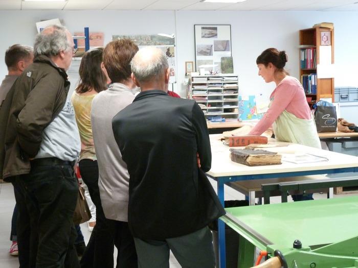 Journées du patrimoine 2018 - Démonstration : «Au chevet des archives».