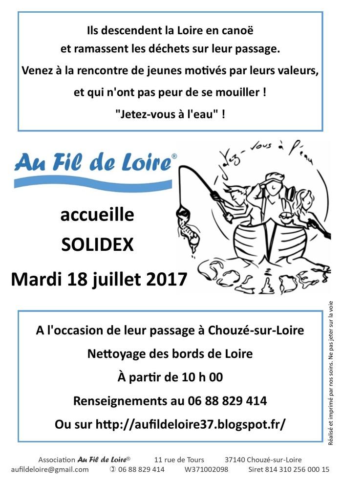 Au Fil de Loire accueille Solidex