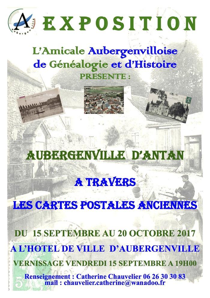 Journées du patrimoine 2017 - Aubergenville d'antan à travers les cartes postales anciennes