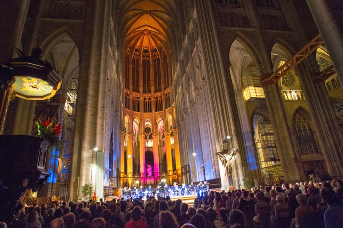 Journées du patrimoine 2018 - Concert d'orgue dans la cathédrale illuminée