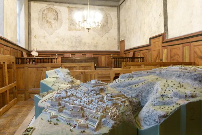 Journées du patrimoine 2017 - Auditoire du Roy (Ancien Palais de Justice)
