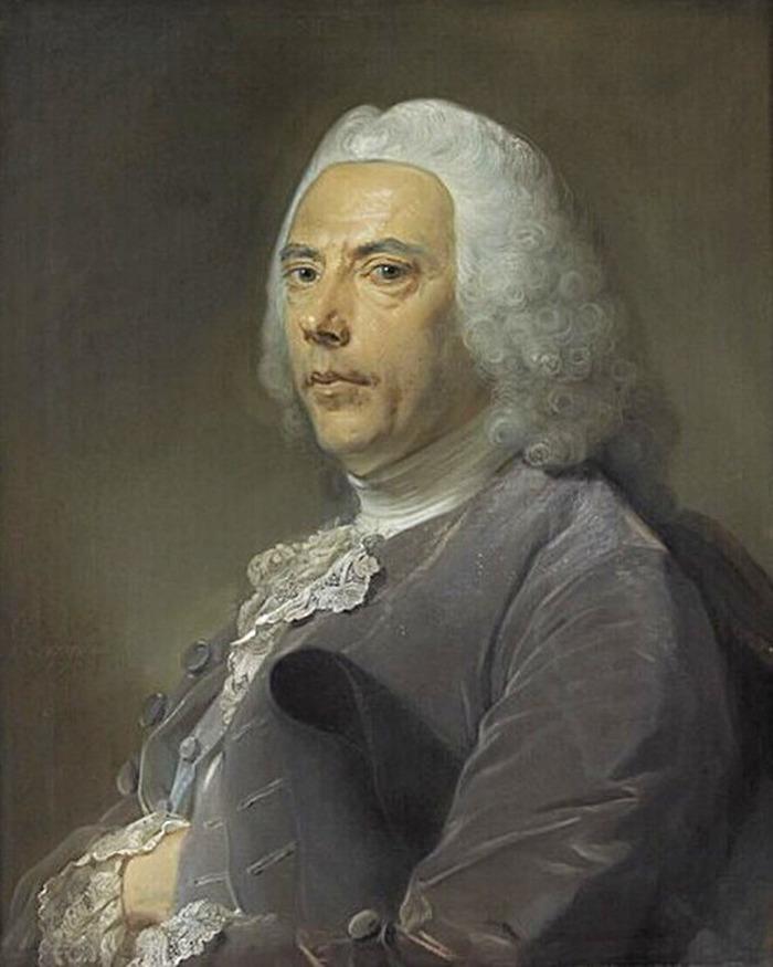 Crédits image : Pierre Bouguer par Perronneau - cliché musée du Louvre
