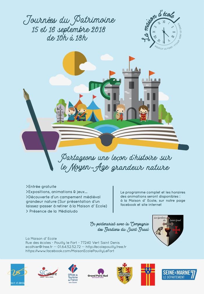 Journées du patrimoine 2018 - Découverte d'un campement médiéval grandeur nature avec démonstrations