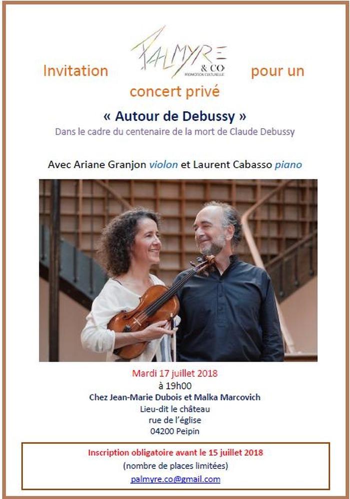 """""""Autour de Debussy"""""""
