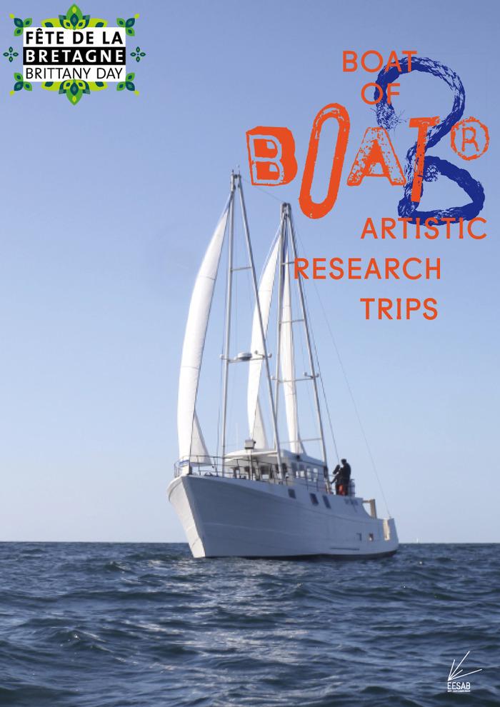 B.O.A.T® : Journée portes ouvertes à bord du navire artistique des écoles supérieures d'art de Bretagne