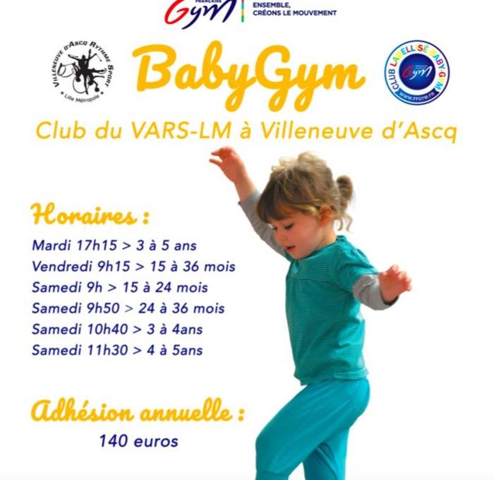 BABY GYM au VARS LM