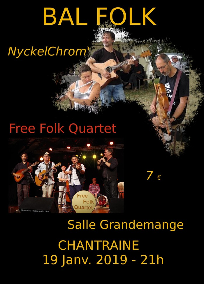 NyckelChrom' invite Free Folk Quartet
