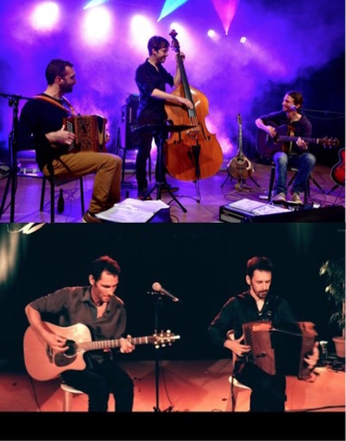 Bal inattendu entre Trio JeanLo et Duo Absynthe