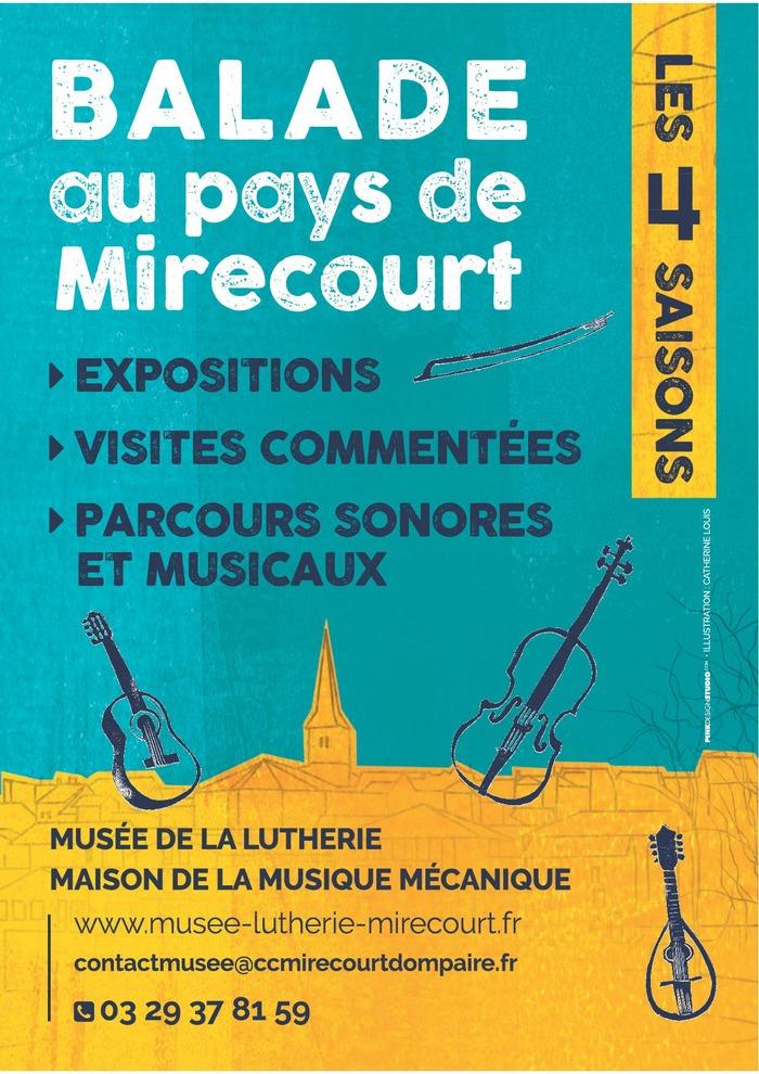 Journées du patrimoine 2018 - Balade au pays de Mirecourt - les quatre saisons