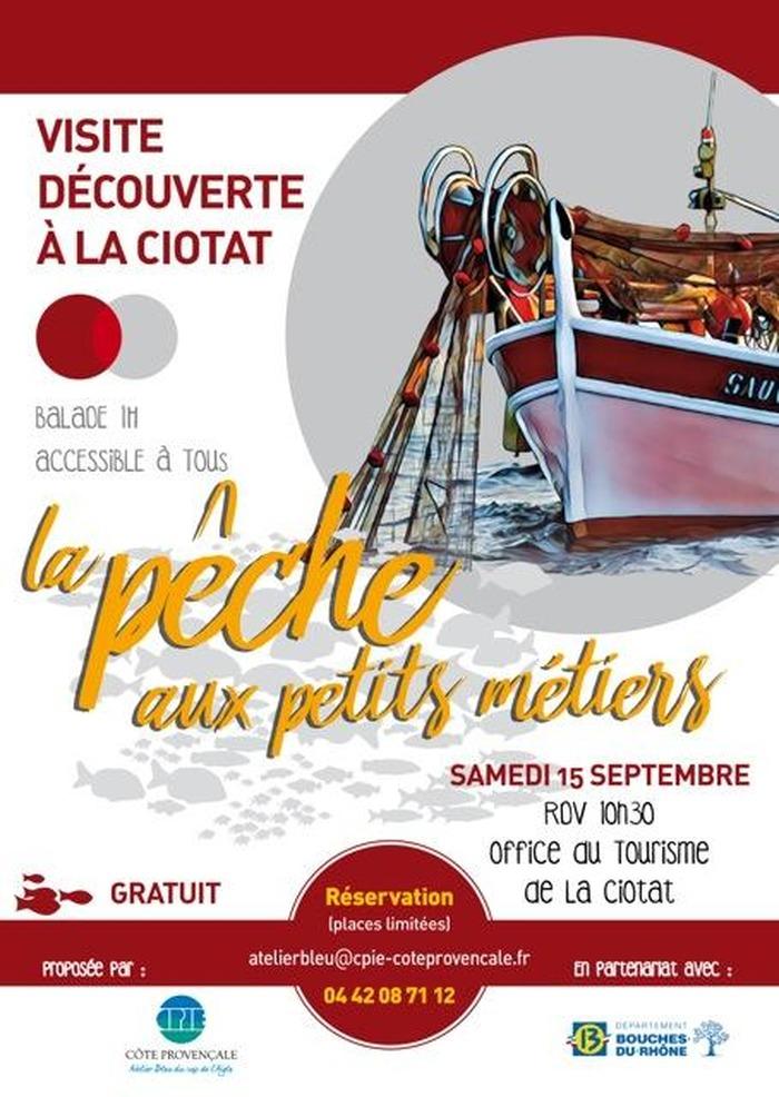 Journées du patrimoine 2018 - Balade commentée à la découverte de la pêche aux petits métiers