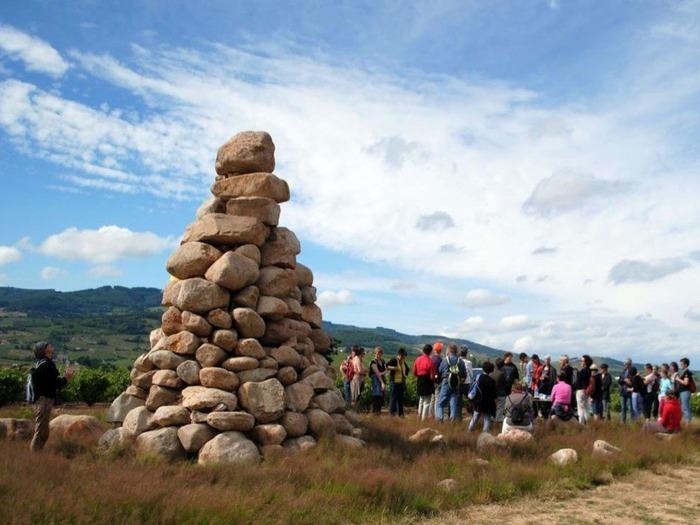 Journées du patrimoine 2018 - Balade commentée de Régnié-Durette.
