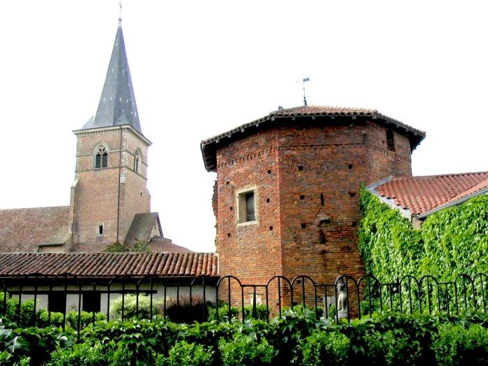Journées du patrimoine 2018 - Balade commentée du village de Saint-Trivier-de-Courtes :