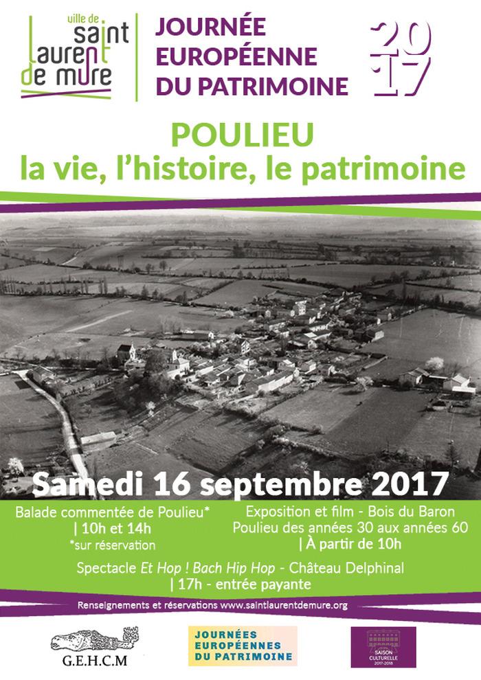 Journées du patrimoine 2017 - Balade commentée