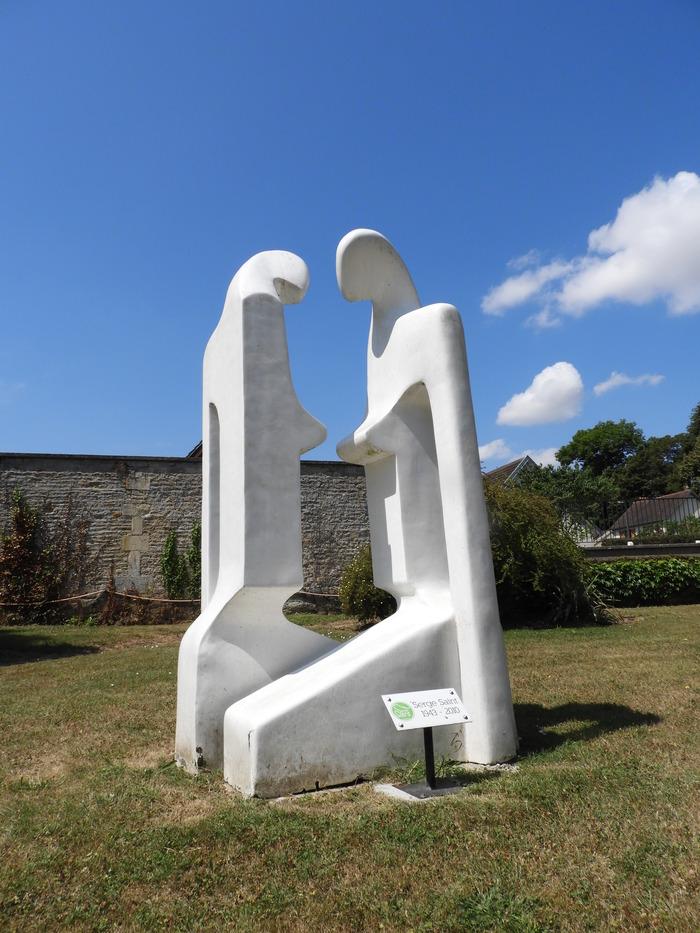Journées du patrimoine 2018 - Balade - lectures à la rencontre des œuvres de Serge Saint à Verson