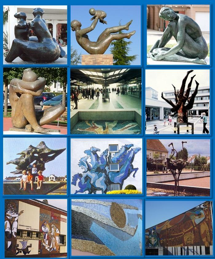 Journées du patrimoine 2017 - Balade commentée : Pour les 50 ans de Maurepas, partons à la découverte de la ville heureuse !